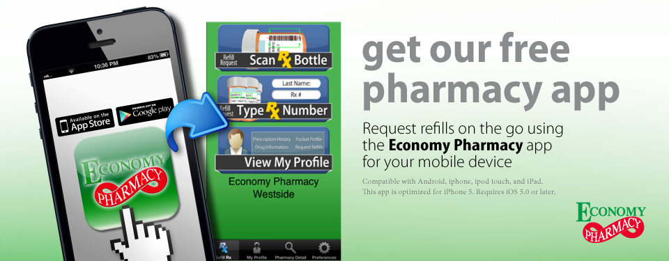 Economy Pharmacy Refill App